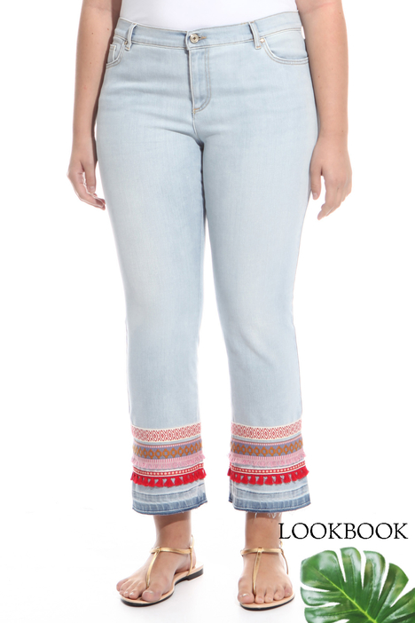 Jeans in raso denim stretch Diffusione Tessile