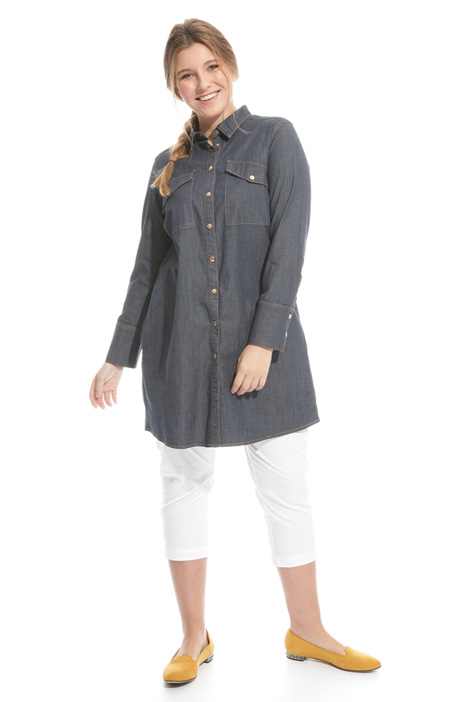 Long denim shirt Intrend
