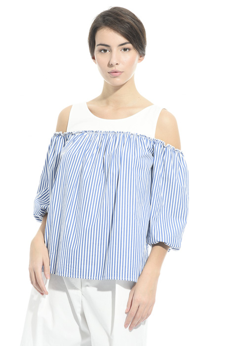Cold shoulder top Diffusione Tessile