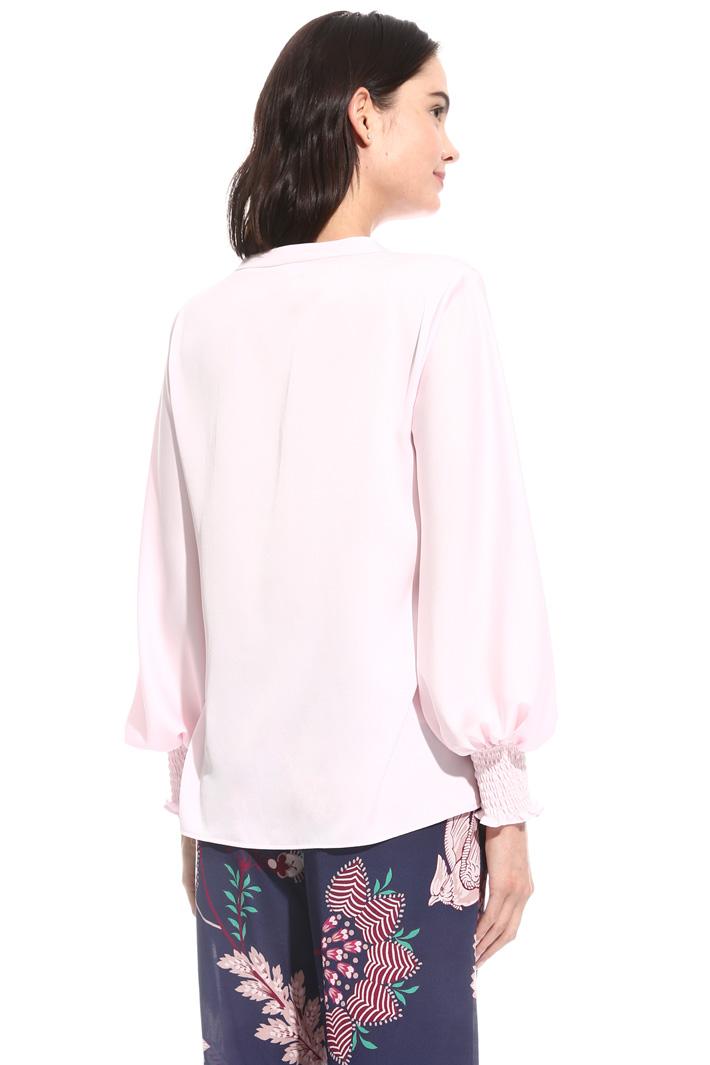 Smock stitch blouse Intrend