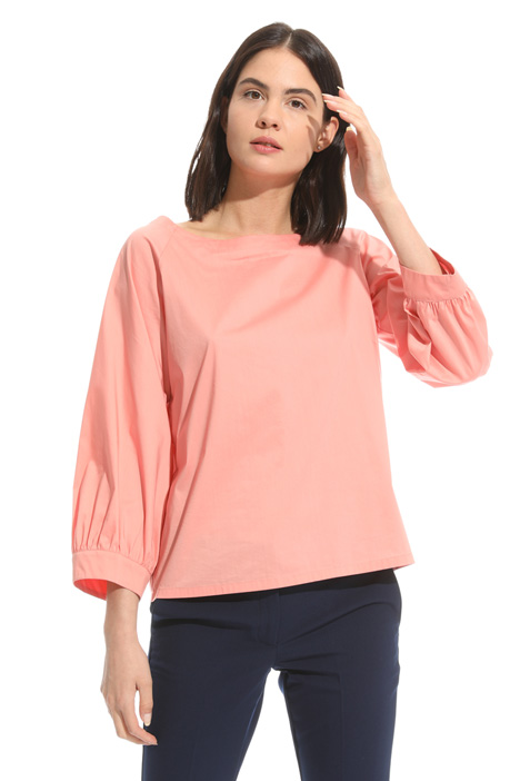 Cotton poplin blouse Intrend