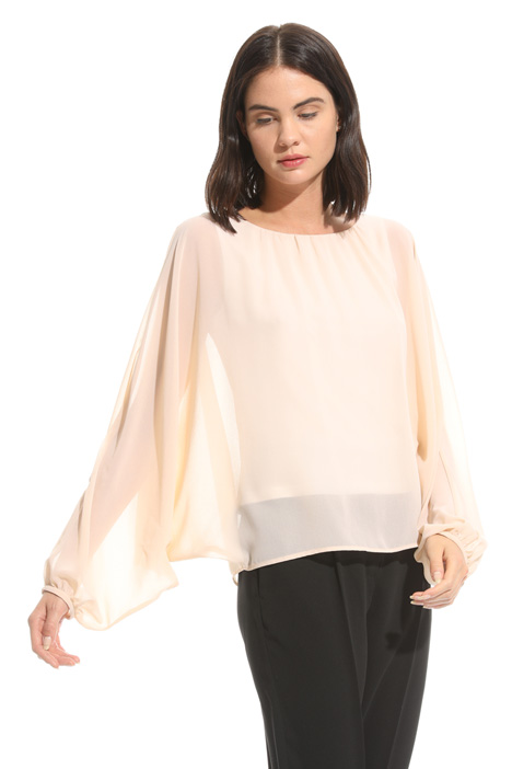 Wide sleeve blouse Diffusione Tessile