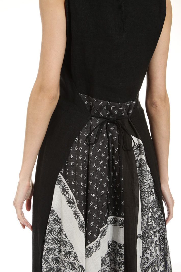 Dress with printed panel Intrend