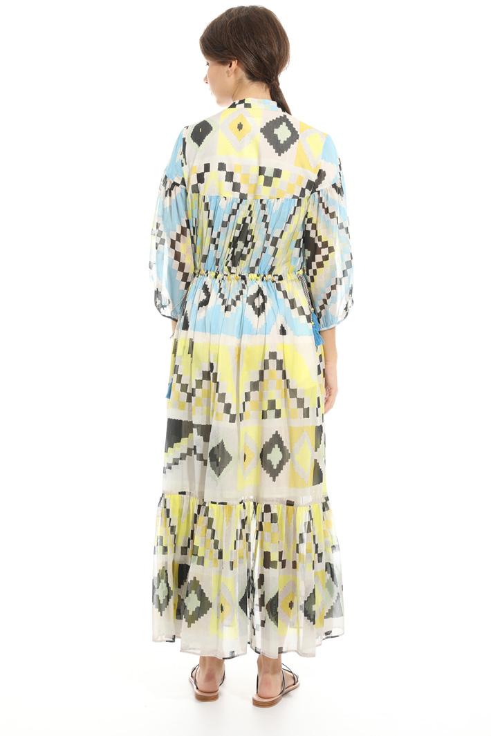 Cotton voilé dress Intrend
