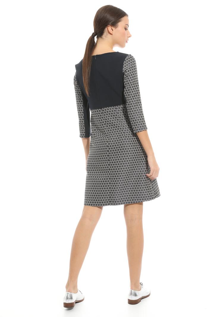 Jacquard fabric dress  Intrend