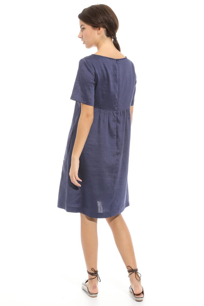 Linen and silk dress Intrend
