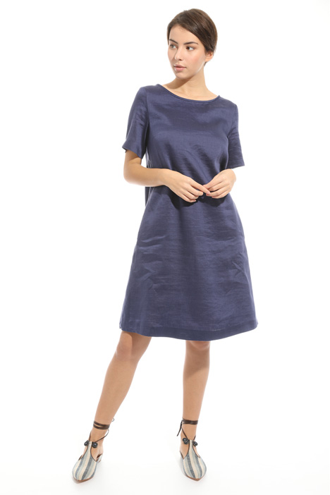 Linen and silk dress Diffusione Tessile