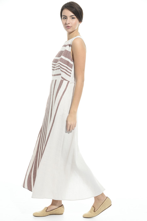 Long linen and cotton dress Diffusione Tessile