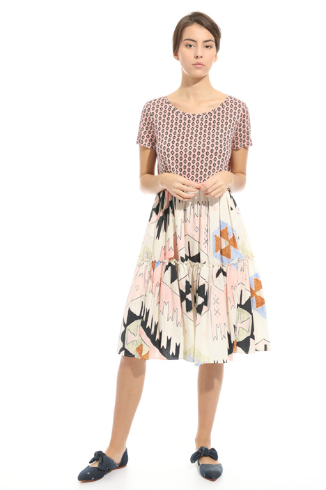 Flounced dress Intrend
