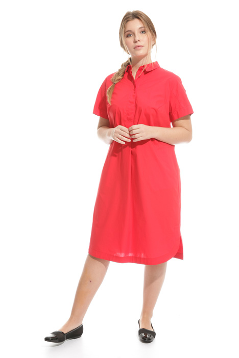 Comfort cotton chemisier dress Intrend