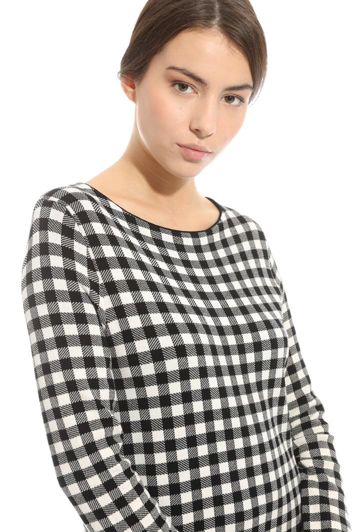 Printed knit dress Intrend