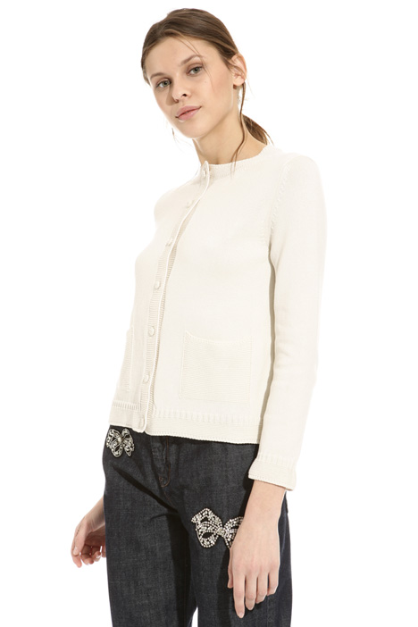 Patch pocket cardigan Intrend