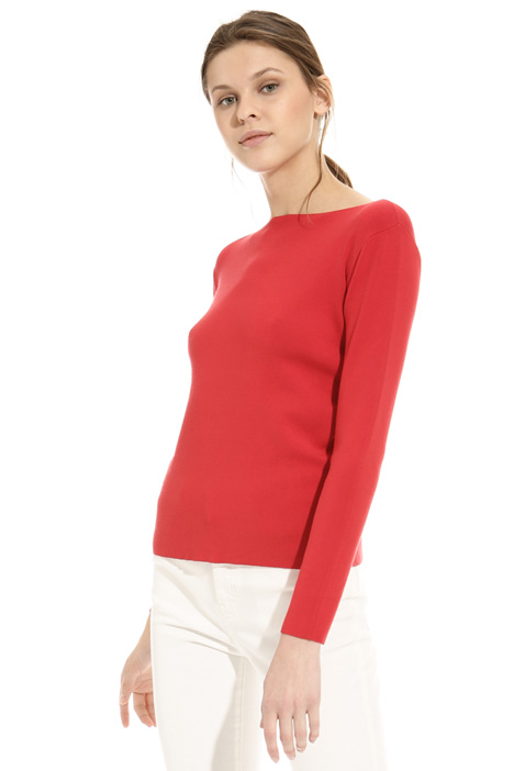 Viscose knit sweater Diffusione Tessile