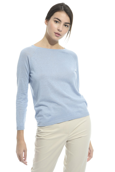 Silk and linen sweater Diffusione Tessile