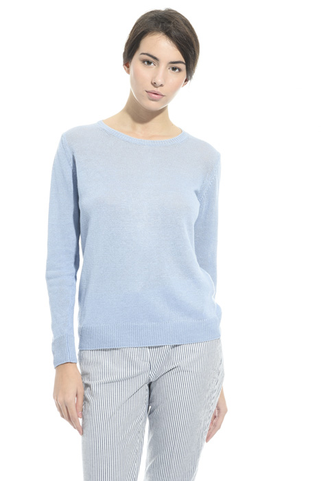 Linen yarn sweater Intrend