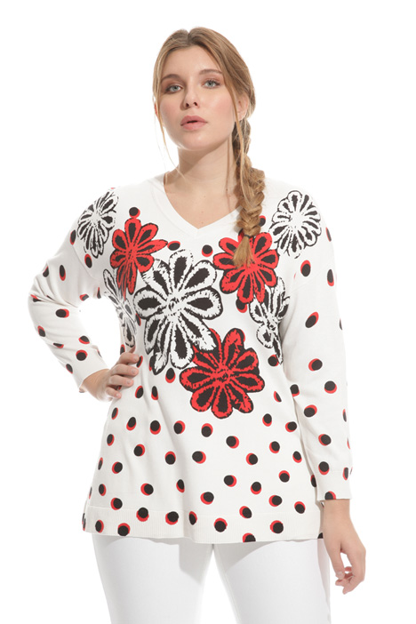 Modal cotton sweater Intrend