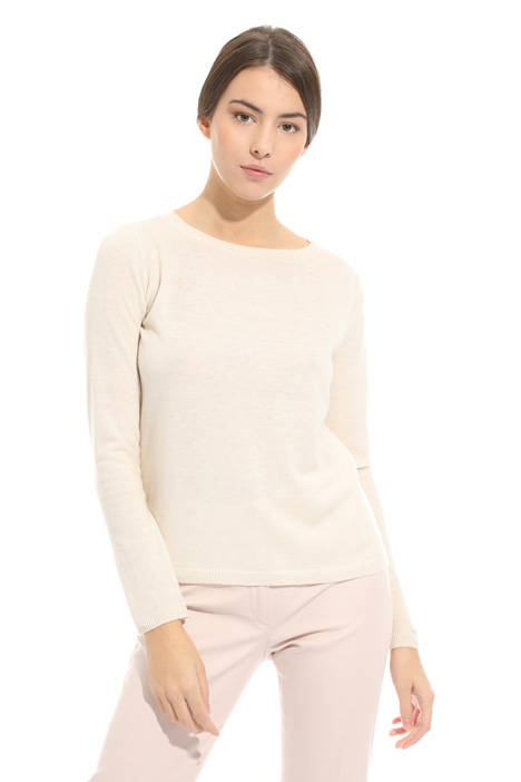 Cashmere and wool sweater Diffusione Tessile