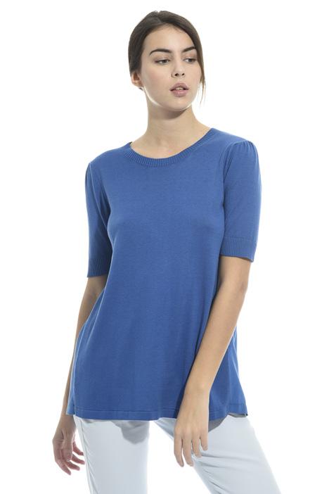 Silk panel sweater Diffusione Tessile