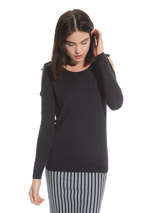 Maglia con cut-out Intrend