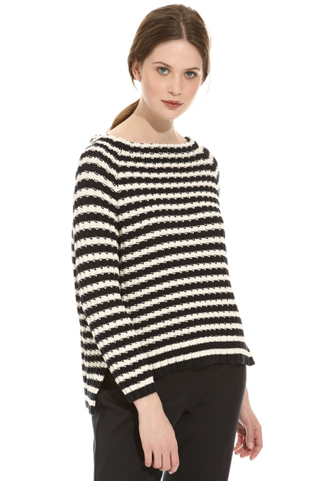 Cordonnet cotton sweater Diffusione Tessile