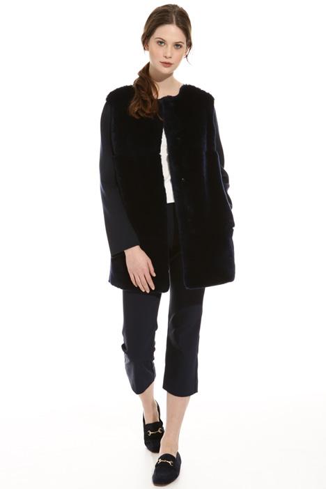 Cappotto in lana e lapin Diffusione Tessile
