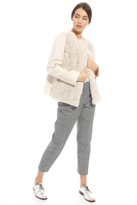 Lapin and wool coat Diffusione Tessile
