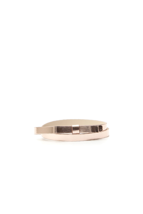 Cintura sottile metallizzata Diffusione Tessile