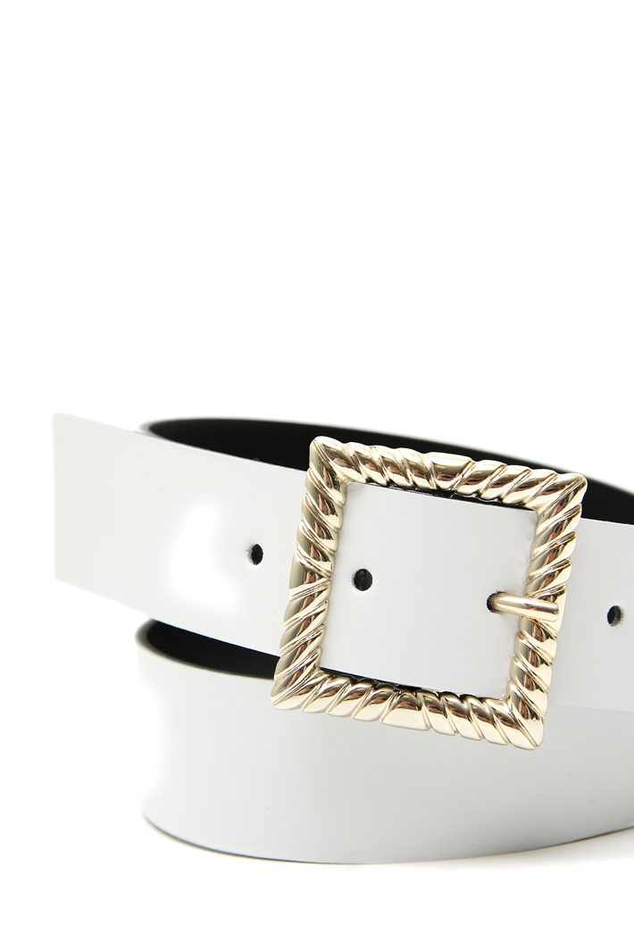 Real leather belt Intrend