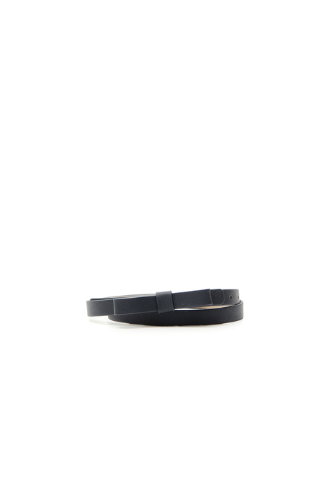 Saffiano-effect leather belt Intrend