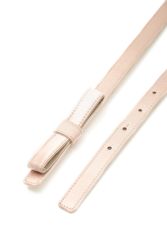 Thin satin belt Intrend