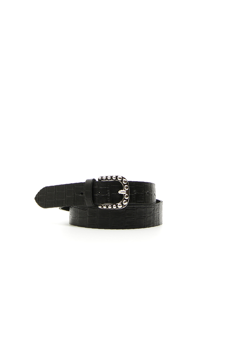 Crocodile print belt Intrend