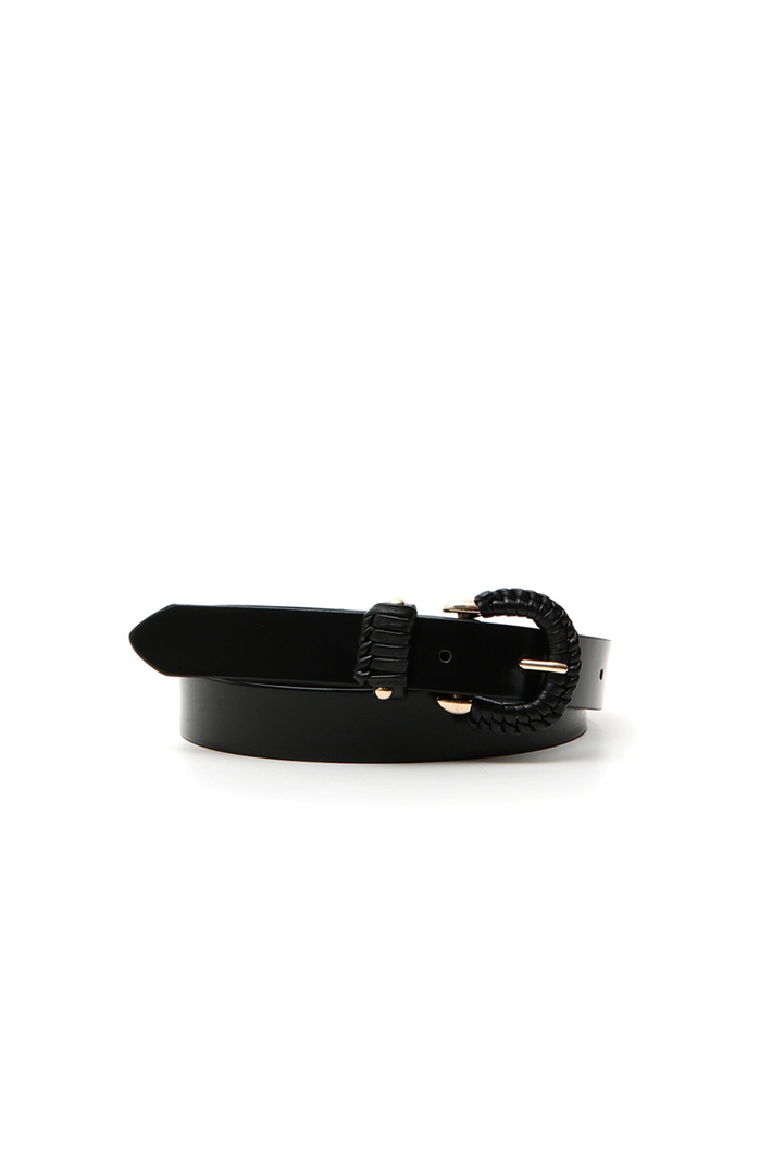 Braided buckle belt Intrend