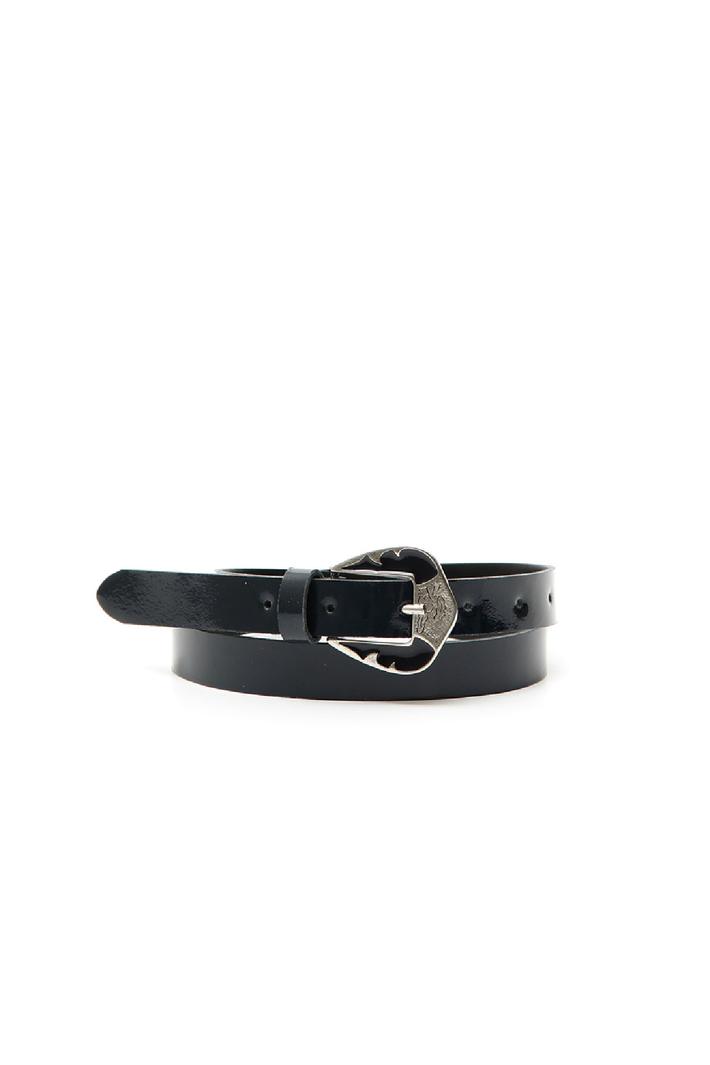 Enameled buckle belt Intrend