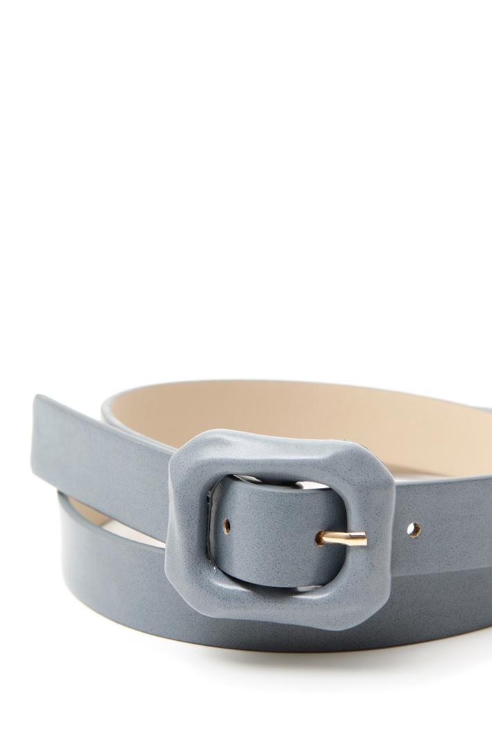 Cintura con fibbia rivestita Intrend