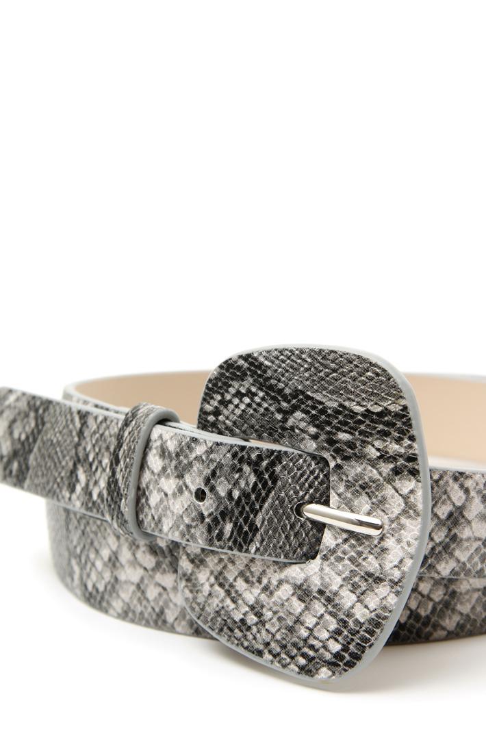Reptile print belt Intrend
