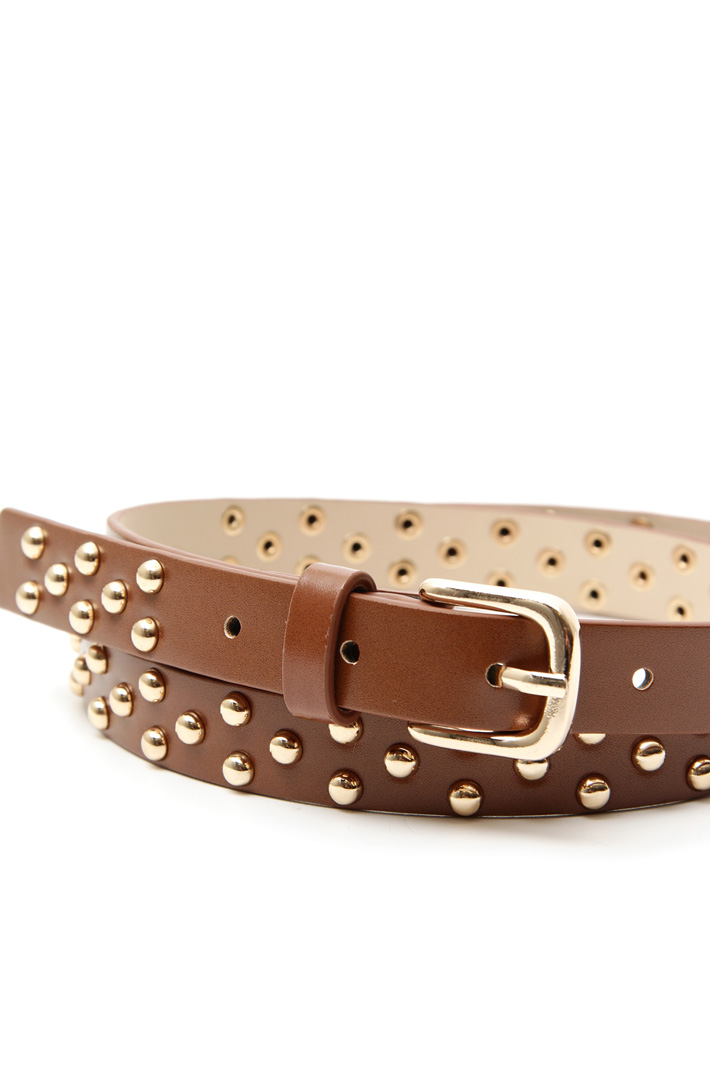 Metal stud belt Intrend