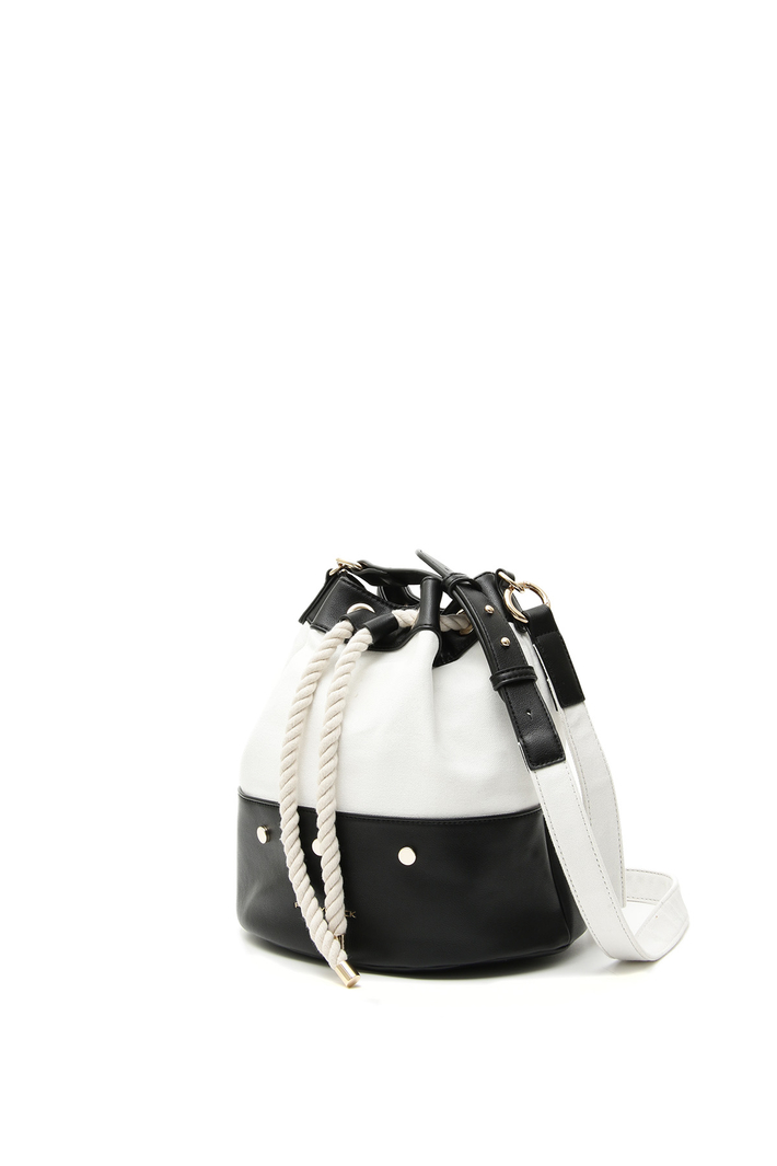Canvas bucket bag Diffusione Tessile