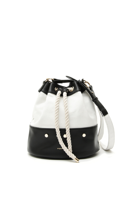 Canvas bucket bag Intrend