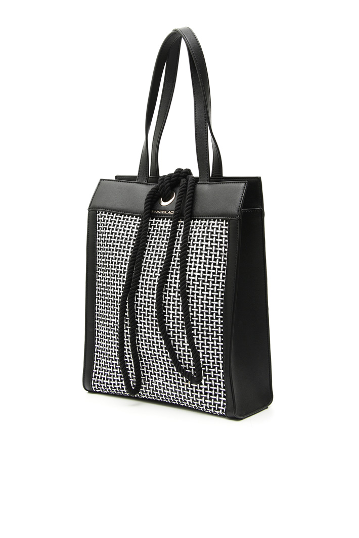 Raffia-effect bag Intrend