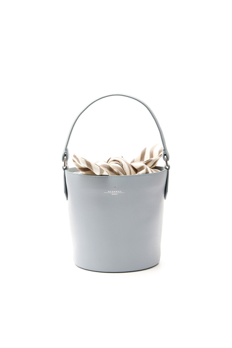 Bucket bag in leather Diffusione Tessile
