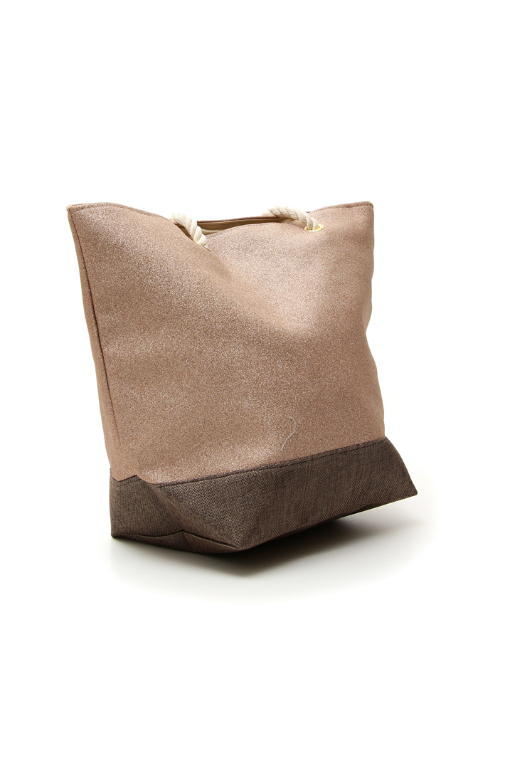 Glitter shopper bag Intrend
