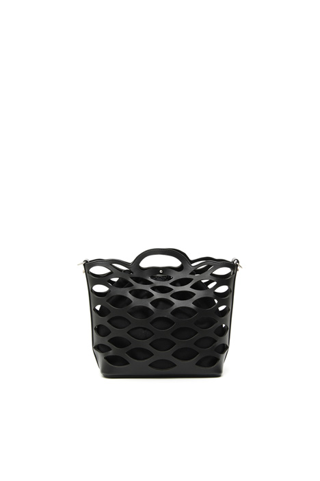 Laser cut bucket bag Intrend