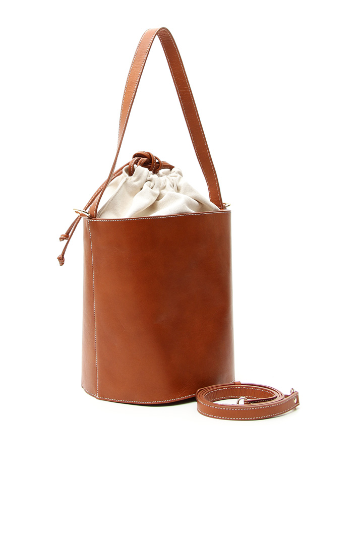Real leather bucket bag Intrend
