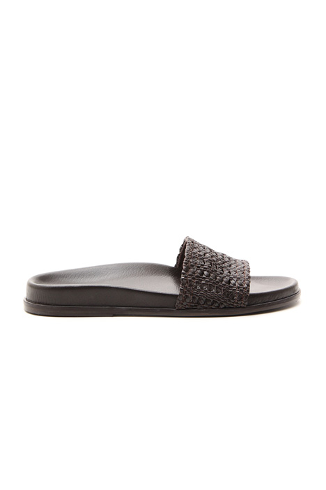 Interwoven leather sandals Diffusione Tessile