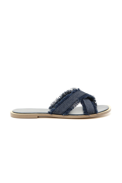 Denim slippers Diffusione Tessile
