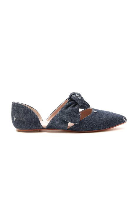 Denim ballerinas Intrend