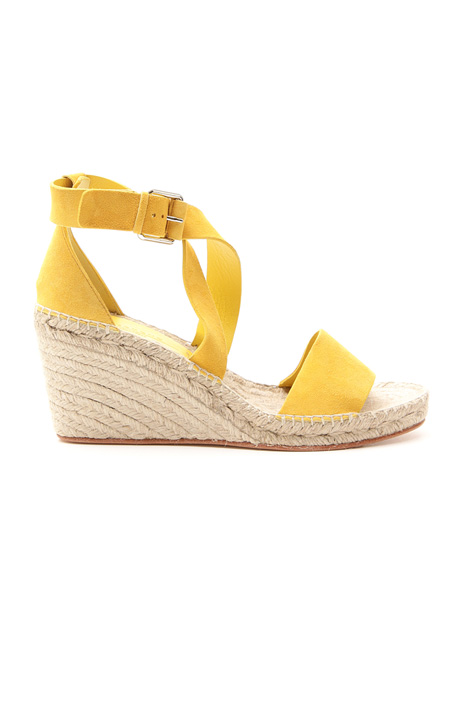 Wedged suede sandal Intrend