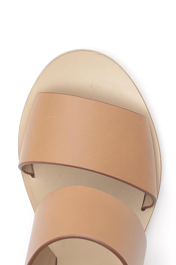 Sandalo in cuoio Intrend