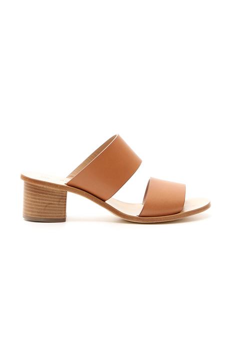 Sandalo in cuoio Diffusione Tessile