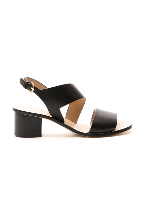Genuine leather sandal Diffusione Tessile